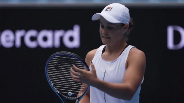 Barty WTA finallerinde yok