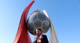 Sivasspor Anıtı'nın açılışı yapıldı