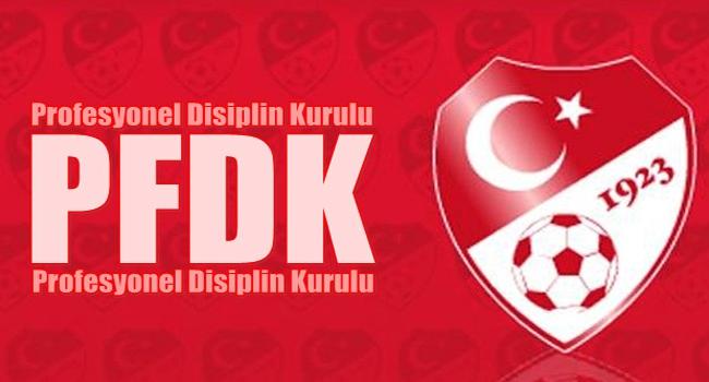 Sosyal medya PFDK'lık etti!