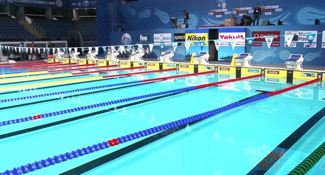 Yüzücüler rekora doymadı