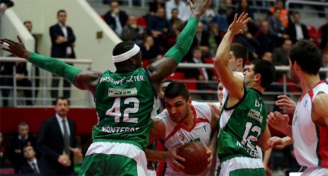 Pınar karşıyaka, fransız ekibi nanterre'e 84-79 mağlup oldu