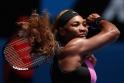 Serena kortlara döndü