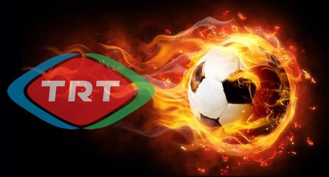 TRT'de futbol şöleni!