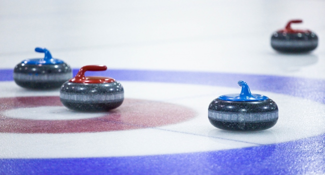 Erzurum'da Curling heyecanı