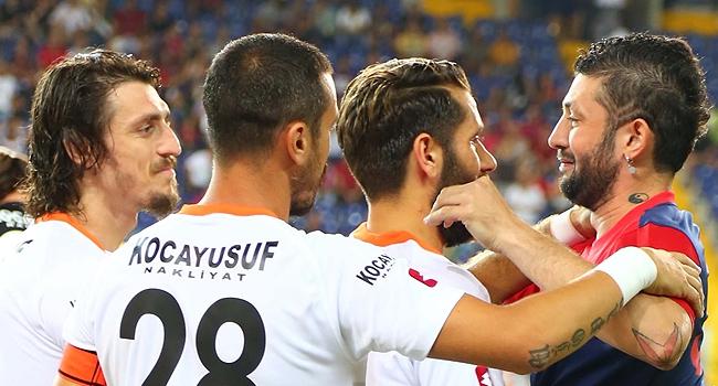 Mersin'de duygulandıran maç