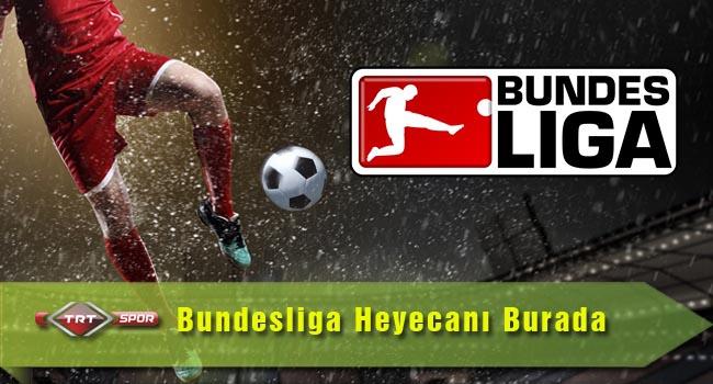 Bundesliga heyecanı TRT'de yaşanır