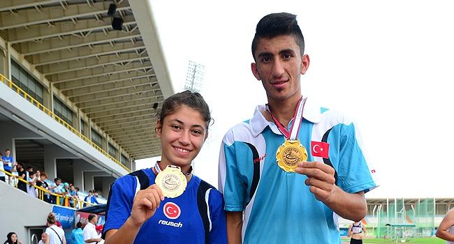 İşitme engellilerden 2 madalya