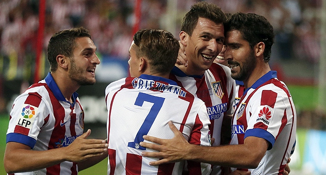 Süper Kupa Atletico Madrid'in
