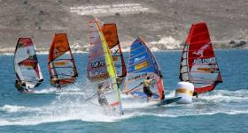 Rüzgar sörfü liginde son ayak heyecanı