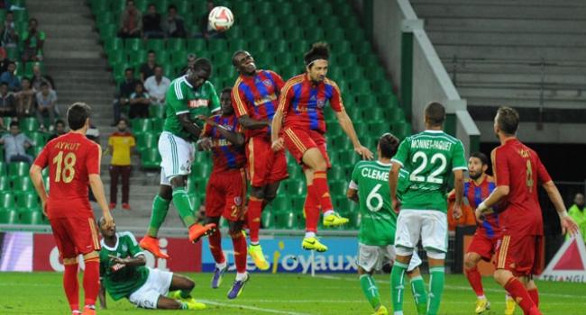 Karabükspor-Saint-Etienne maçının özeti