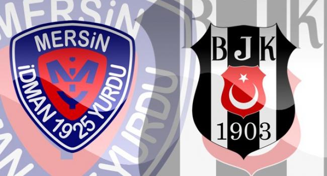 Beşiktaş ile Mersin 27. randevuda