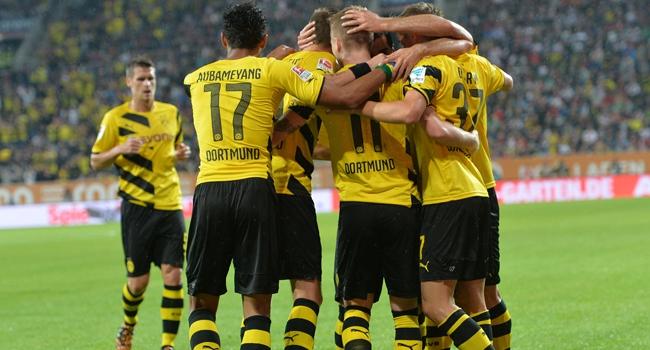 Gol düellosu Dortmund'un