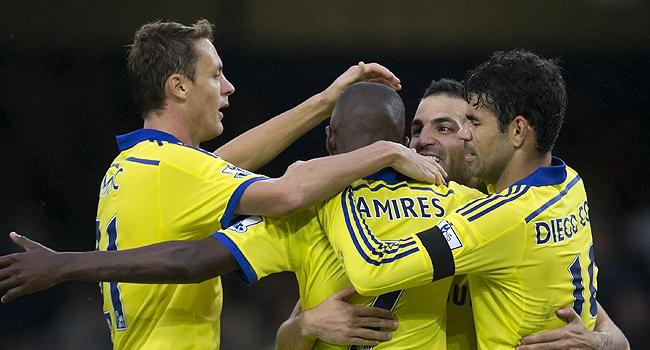 9 gollük maç Chelsea'nin