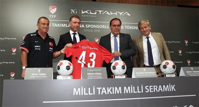 Milli takıma yeni sponsor