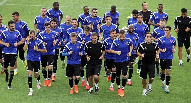 Karabükspor'da Kasımpaşa maçı hazırlıkları