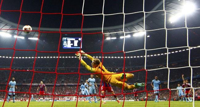 Bayern son dakikada güldü