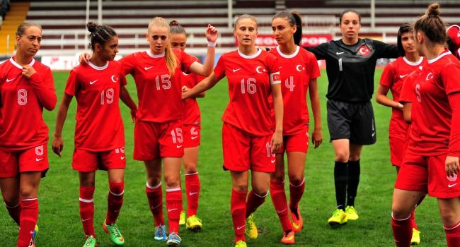 Kızlar Kazakistan'ı gole boğdu