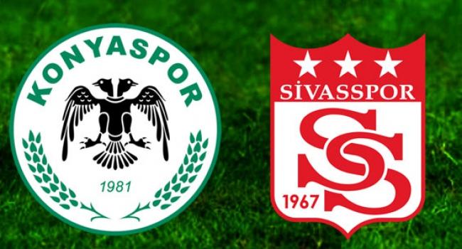 Sivas ile Konyaspor 13. randevuda