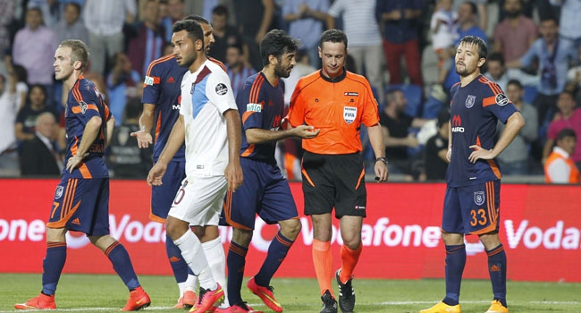 Trabzonspor'dan hakeme tepki