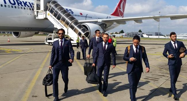 Galatasaray, Londra'ya geldi