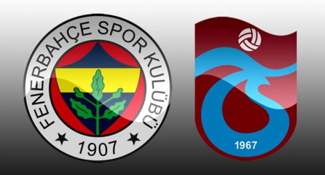 F.Bahçe ile Trabzonspor 116. randevuda