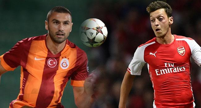 Galatasaray Arsenal deplasmanında