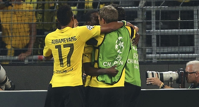 Dortmund'dan Anderlecht'e fark