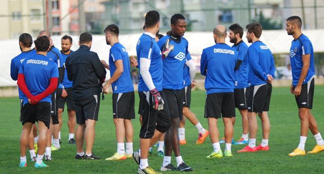 Orduspor'da 7 futbolcu oynamayacak