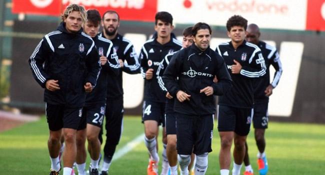 Beşiktaş'da Partizan maçı hazırlıkları