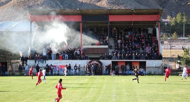 Sivas'ta amatör maçta olay