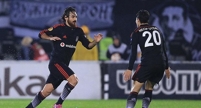 Beşiktaş Avrupa'da farklı