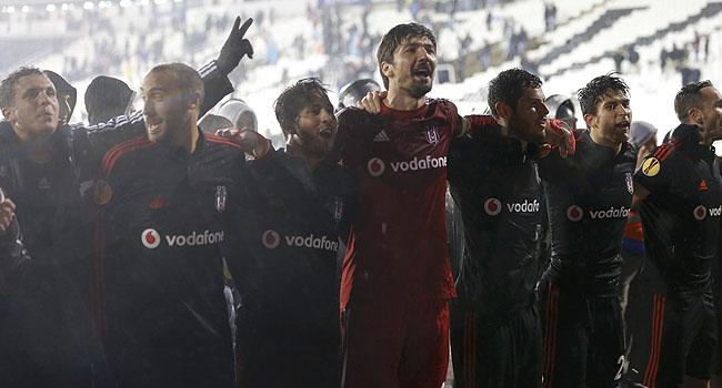 İşte Beşiktaş'ın grubundaki puan durumu