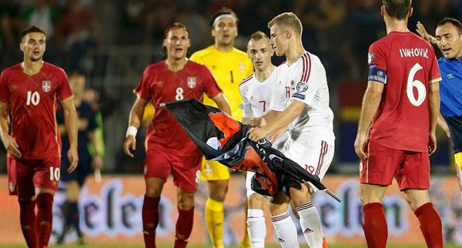 UEFA'dan Sırbistan-Arnavutluk kararı