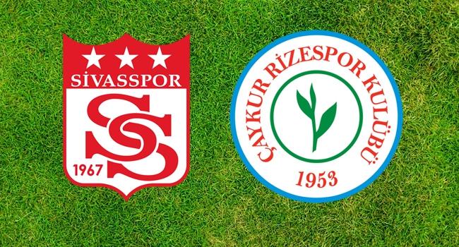 Sivasspor-Ç.Rizespor 9.randevuda