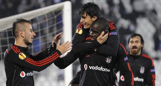 Beşiktaş'ın galibiyeti uefa.com'da!