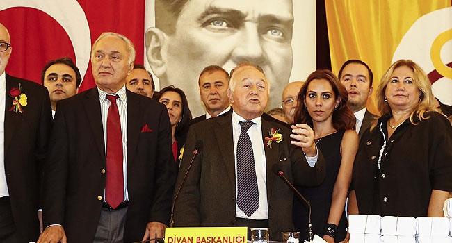 Galatasaray'ın yeni başkanı Yarsuvat