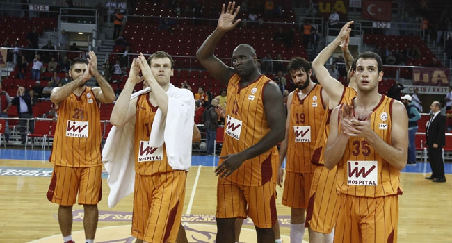 G.Saray'da 'Top 16' sevinci