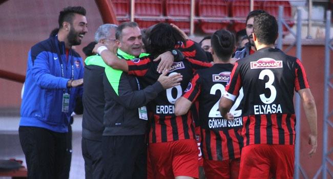 Gaziantepspor'un bileği bükülmüyor