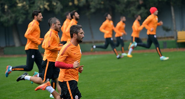 Galatasaray'da Anderlecht mesaisi