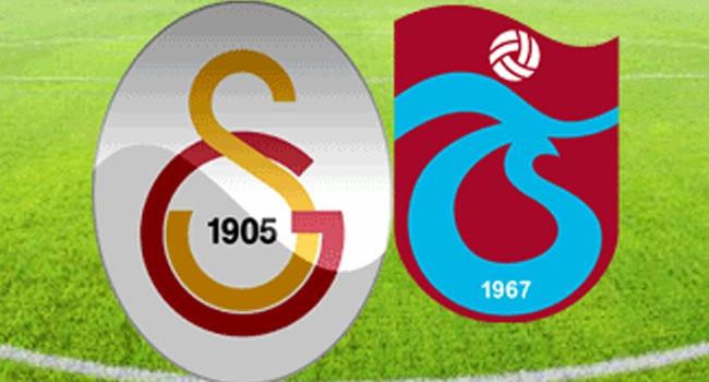 Dev maç: Galatasaray - Trabzonspor