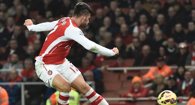 Arsenal'de Giroud yok