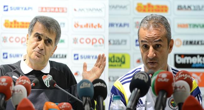Bursa'da maçın ardından