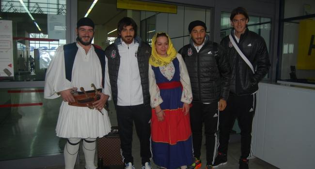 Beşiktaş Yunanistan'a geldi