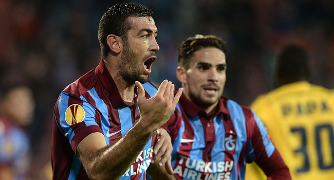 Trabzonspor Avrupa Ligi'nde 2. turda
