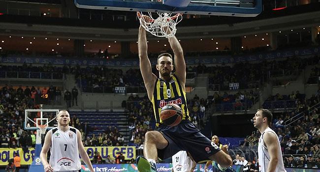 Fenerbahçe Ülker Turow'u rahat geçti