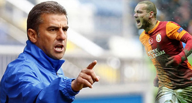 VİDEO   Hamzaoğlu'dan Sneijder'e salvolar