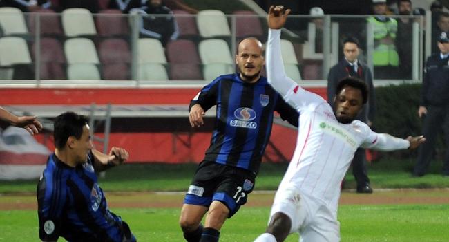 Samsunspor'a şok sonuç